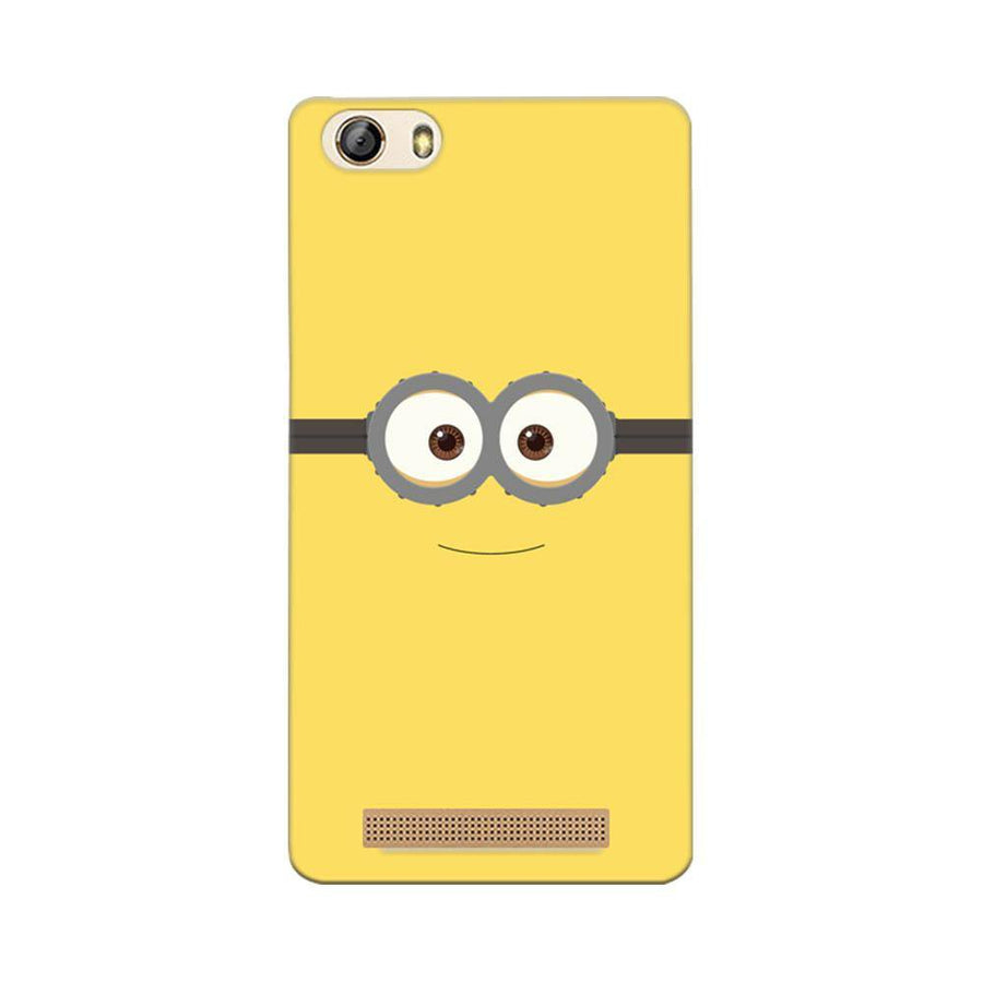 Mangomask Gionee Marathon M5 Lite Mobile Phone Case Back Cover Custom Printed Designer Series Minions On Despicable Me