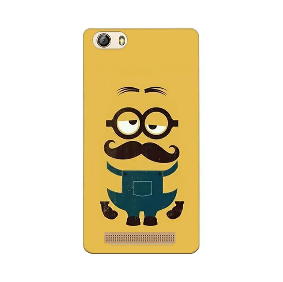 Gionee Marathon M5 Lite Mangomask Gionee Marathon M5 Lite Mobile Phone Case Back Cover Custom Printed Designer Series Hipsters Minions Two Despicable Me