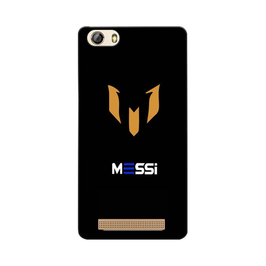 Mangomask Gionee Marathon M5 Lite Mobile Phone Case Back Cover Custom Printed Designer Series Soccer Messi Two