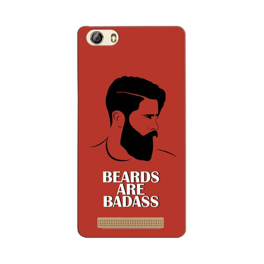 Gionee Marathon M5 Lite Mangomask Gionee Marathon M5 Lite Mobile Phone Case Back Cover Custom Printed Designer Series Hipster Beards Are Badass