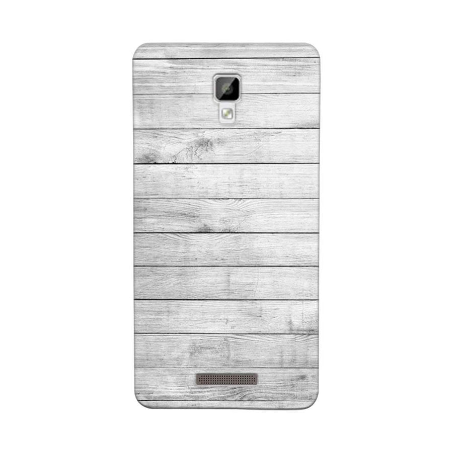 Mangomask Gionee P7 Mobile Phone Case Back Cover Custom Printed Designer Series White Wood Two