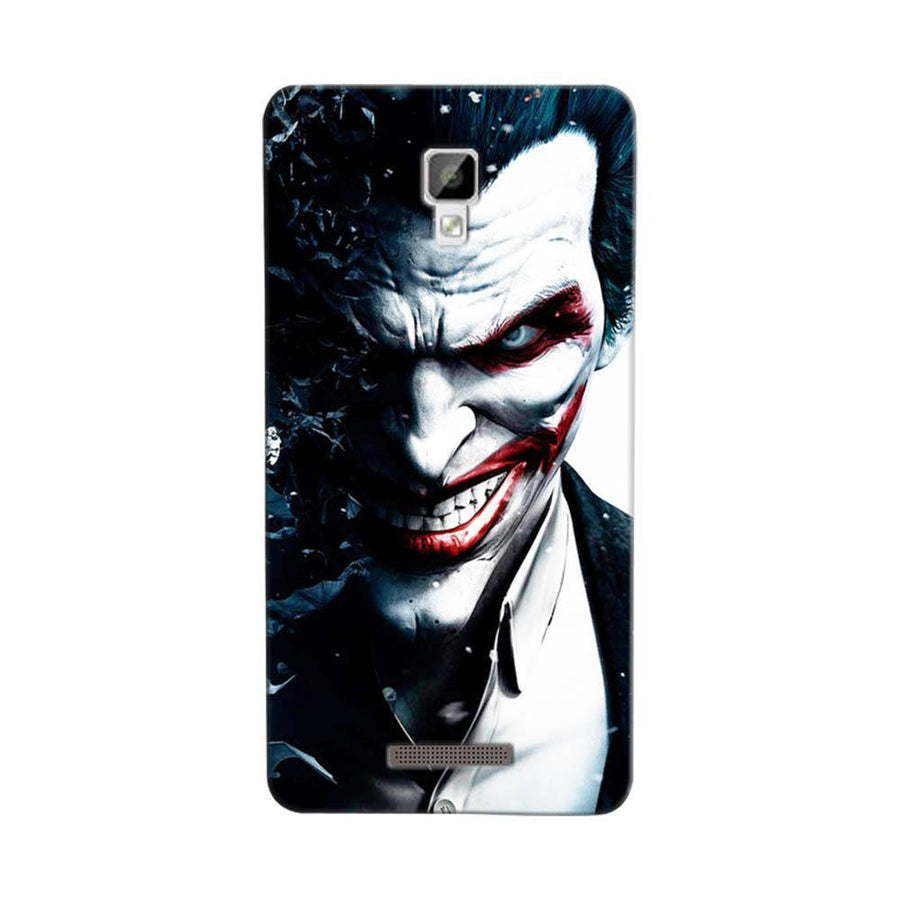 Mangomask Gionee P7 Mobile Phone Case Back Cover Custom Printed Designer Series Red Eye Joker