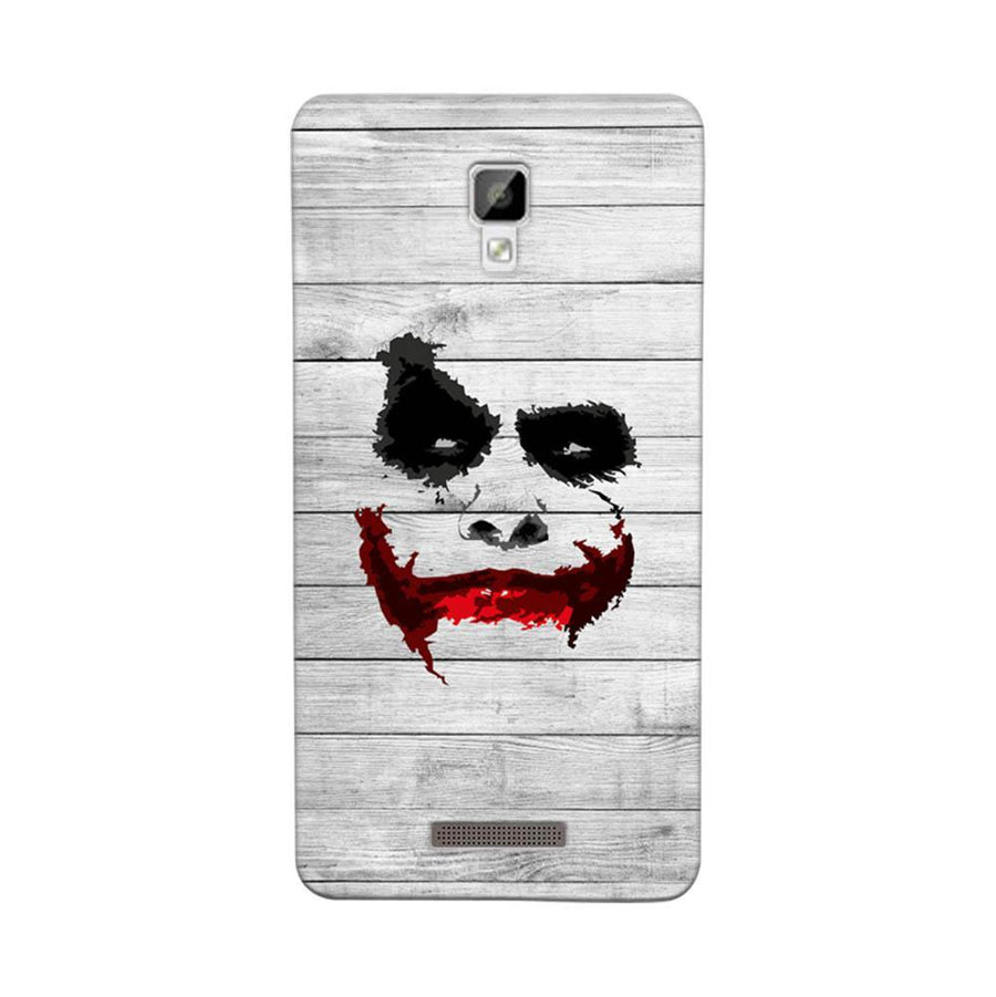 Mangomask Gionee P7 Mobile Phone Case Back Cover Custom Printed Designer Series Joker Smile