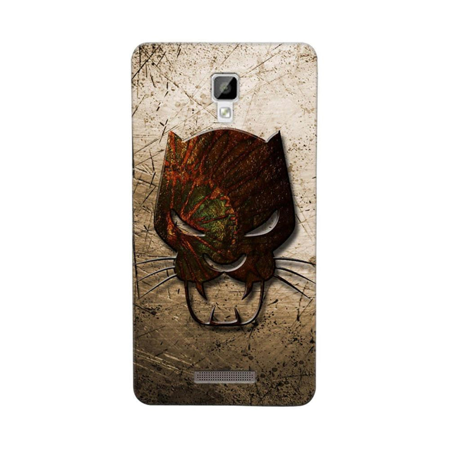 Mangomask Gionee P7 Mobile Phone Case Back Cover Custom Printed Designer Series Tiger Mask