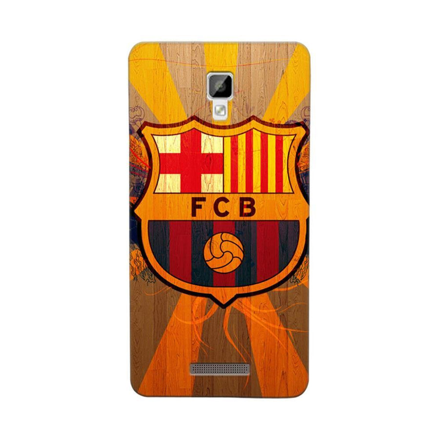 Mangomask Gionee P7 Mobile Phone Case Back Cover Custom Printed Designer Series Soccer
