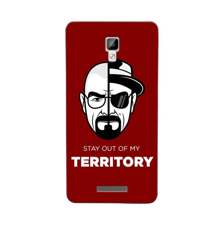 Mangomask Gionee P7 Mobile Phone Case Back Cover Custom Printed Designer Series Breaking Bad Two