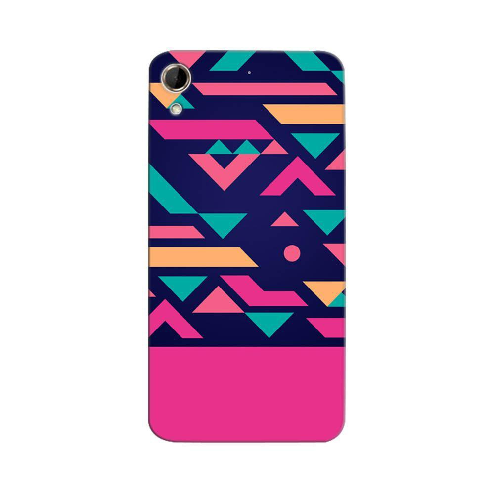 low priced 4a54a a0ddb Mangomask HTC Desire 626 Mobile Phone Case Back Cover Custom Printed  Designer Series Aqua Pink Pattern
