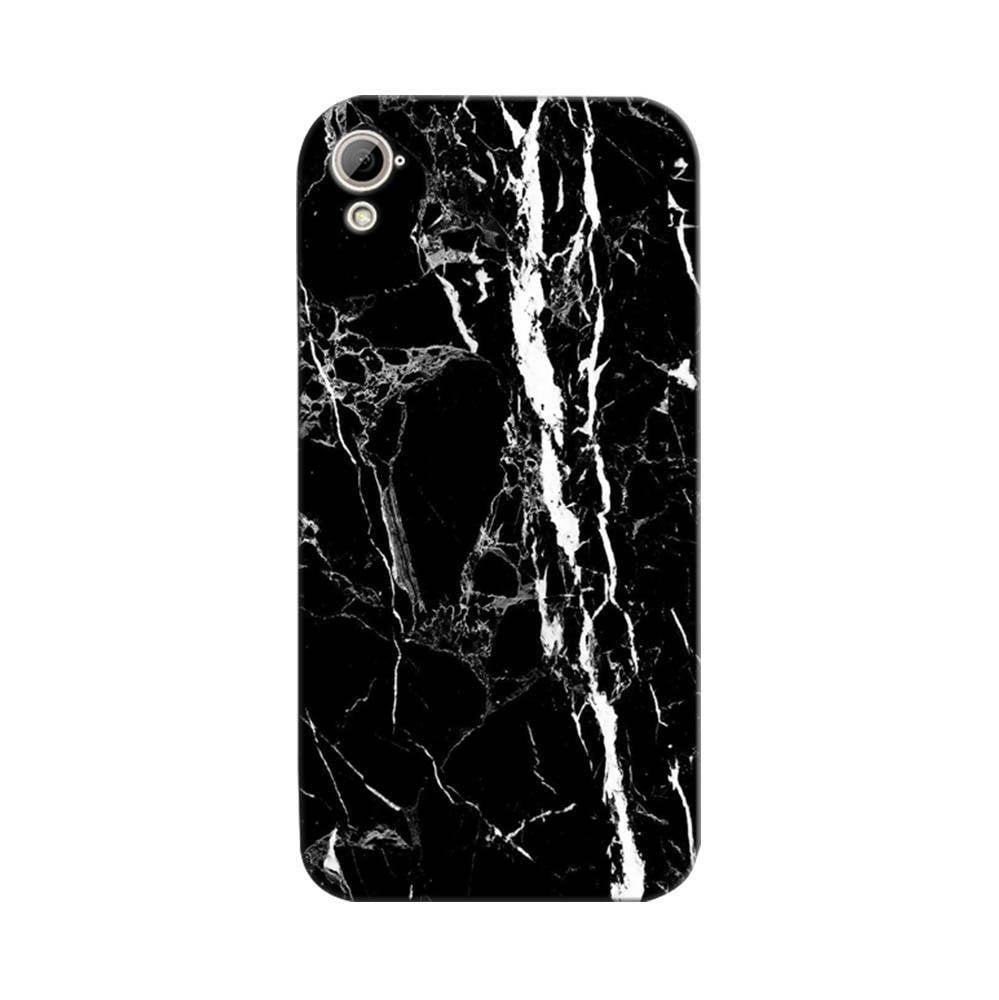 more photos eca49 833a2 Mangomask HTC Desire 826 Mobile Phone Case Back Cover Custom Printed  Designer Series Black And White Marble
