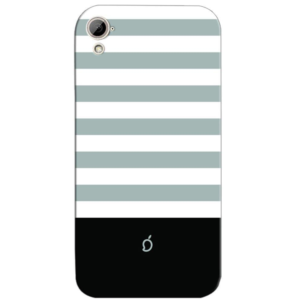 pretty nice fe6f0 c1949 Mangomask HTC Desire 826 Mobile Phone Case Back Cover Custom Printed Neon  Series Dark Gray Striped Four
