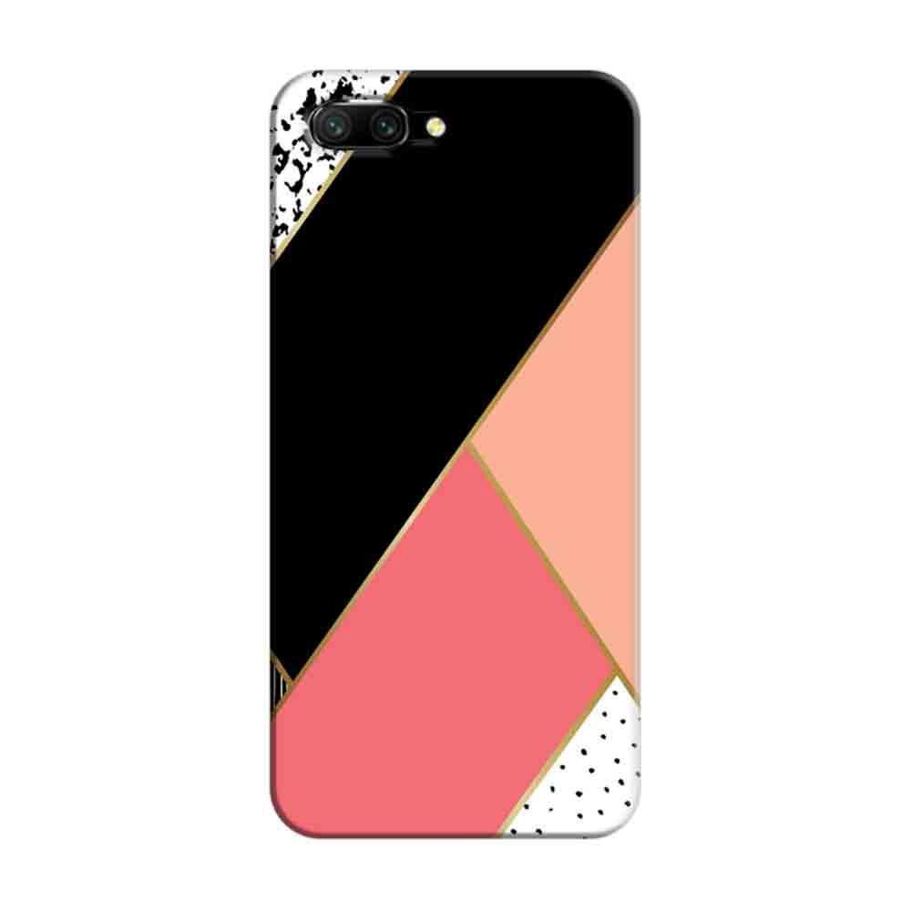 lowest price 0fc84 667a8 Mangomask Huawei Honor 10 Mobile Phone Case Back Cover Custom Printed  Designer Series Black And Pink Cute Pattern