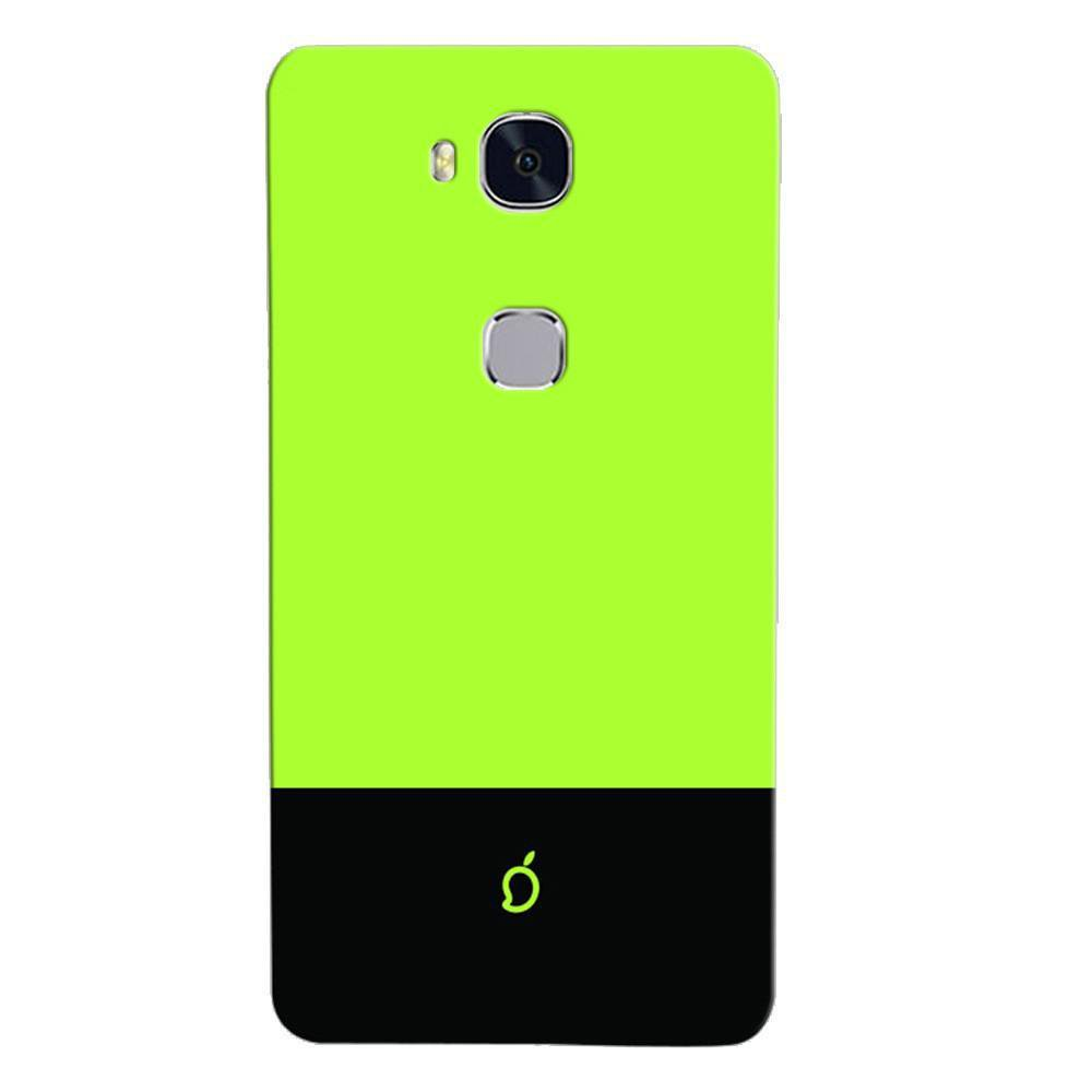 sneakers for cheap 2baa9 6a9f1 Mangomask Huawei Honor 5X Mobile Phone Case Back Cover Custom Printed Neon  Series Inchworm Green Striped Three