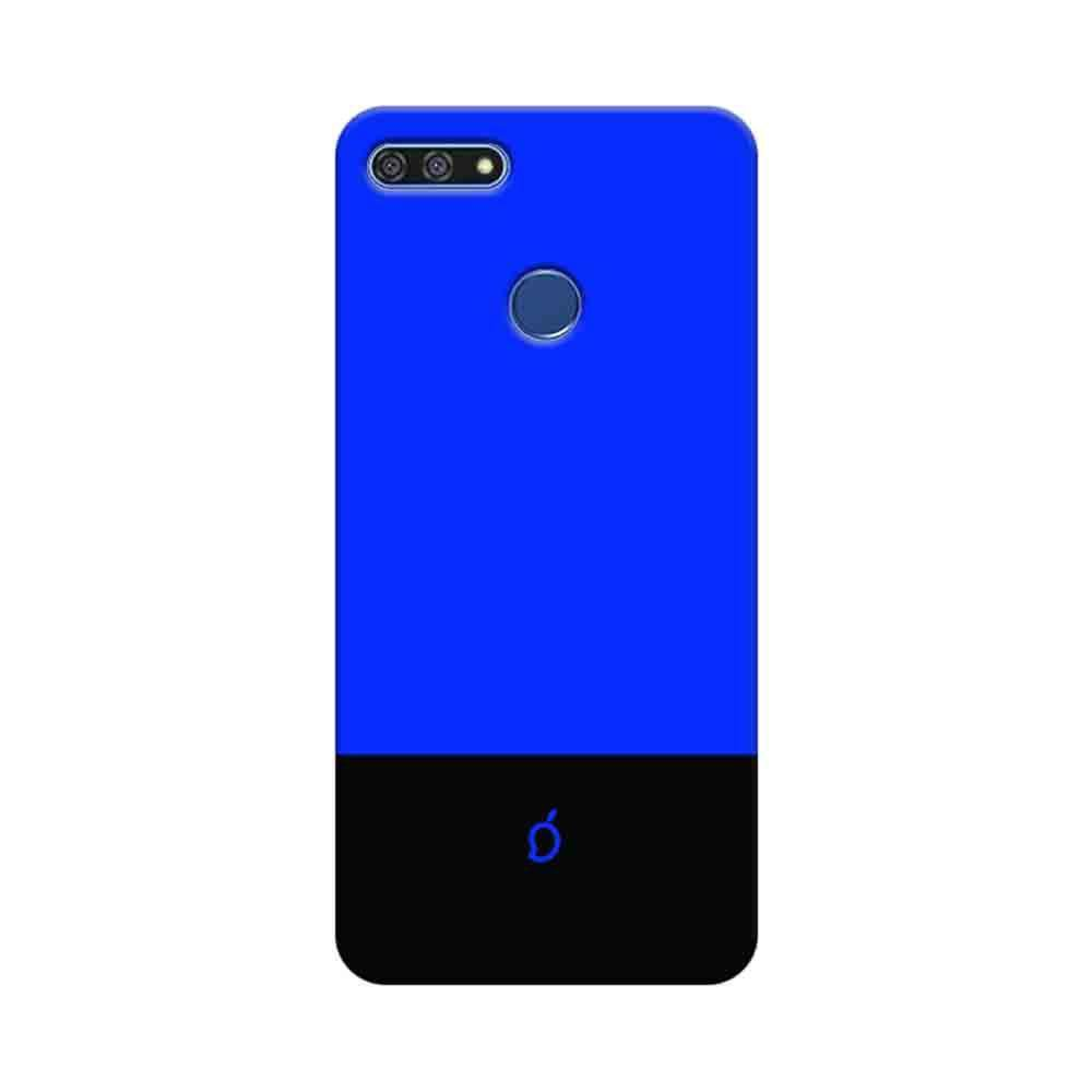 promo code dc314 269a9 Mangomask Huawei Honor 7A Mobile Phone Case Back Cover Custom Printed Neon  Series Royal Blue Striped 3