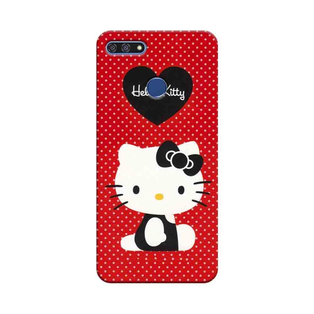hot sale online ef3c0 9185a Mangomask Huawei Honor 7A Mobile Phone Case Back Cover Custom Printed  Designer Series Hello Kitty Red