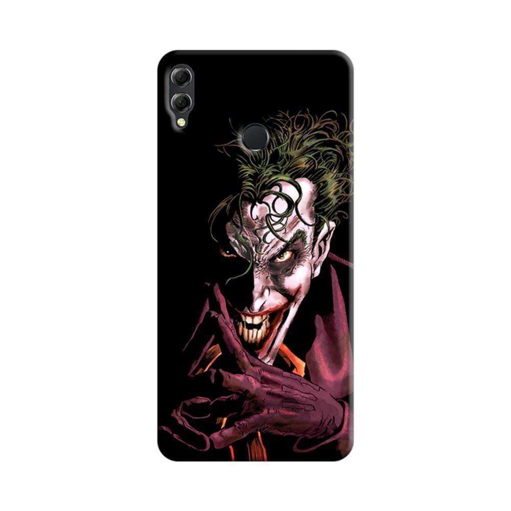 hot sale online 00a09 61f3f Mangomask Huawei Honor 8x Mobile Phone Case Back Cover Custom Printed  Designer Series Comic Joker