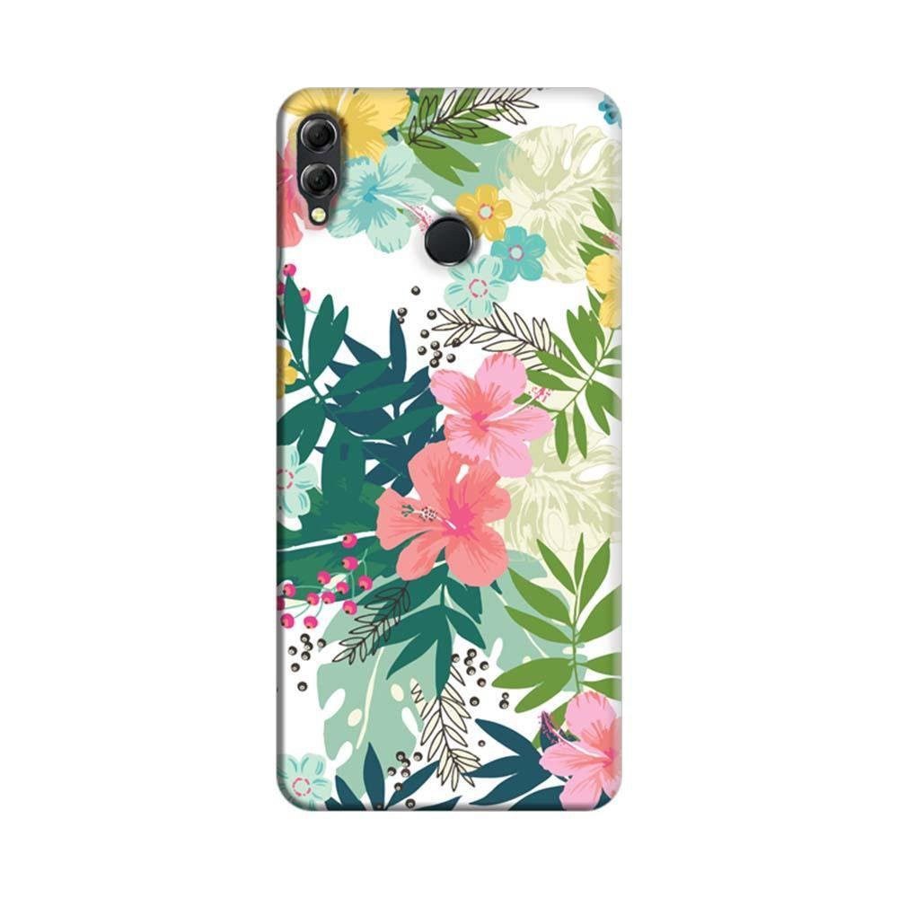 Mangomask Huawei Honor 8x Mobile Phone Case Back Cover Custom Printed  Designer Series Best Floral Pattern Two