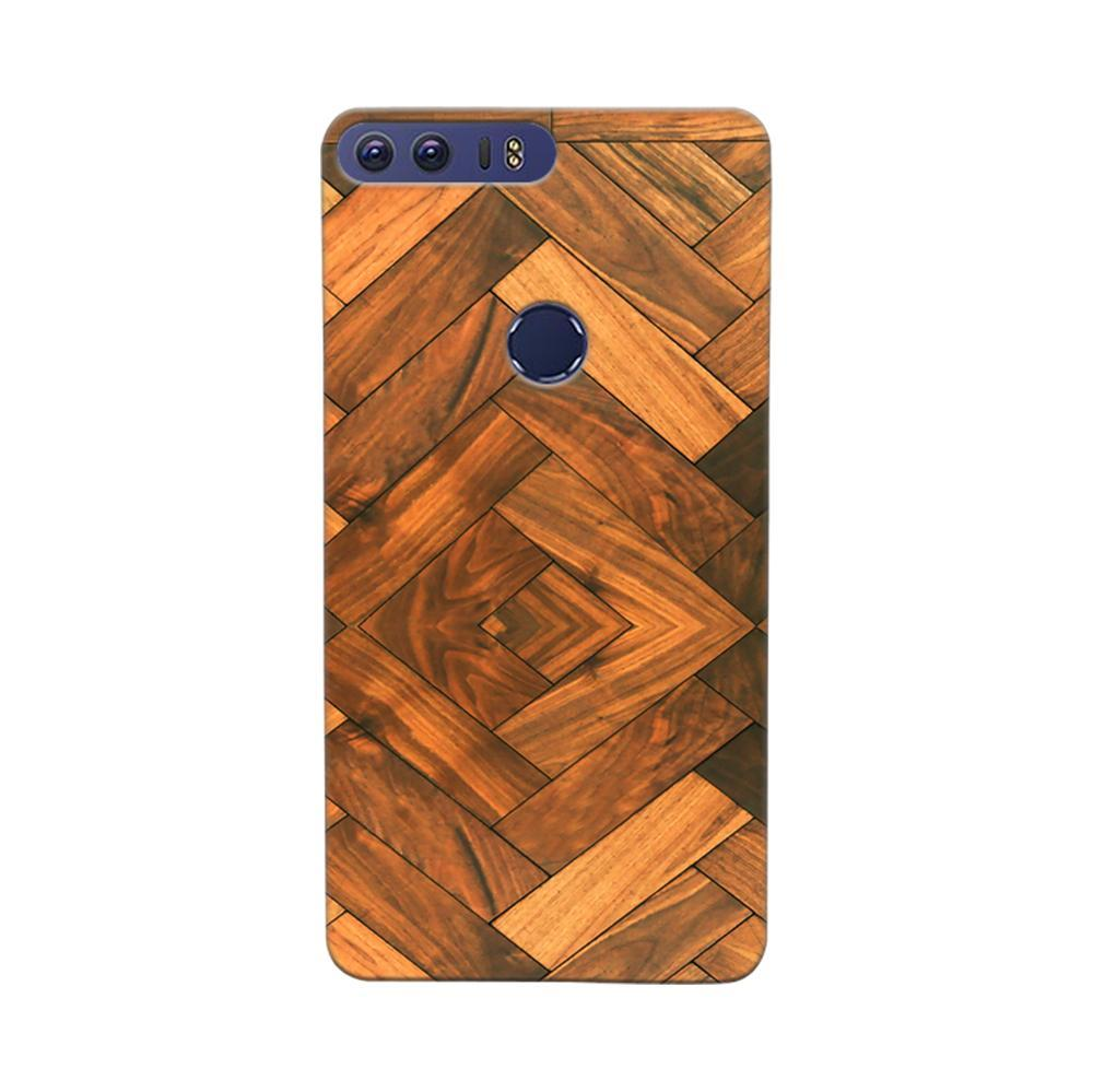 sports shoes 56e27 35508 Mangomask Huawei Honor 8 Mobile Phone Case Back Cover Custom Printed  Designer Series Antique Walnut Wood