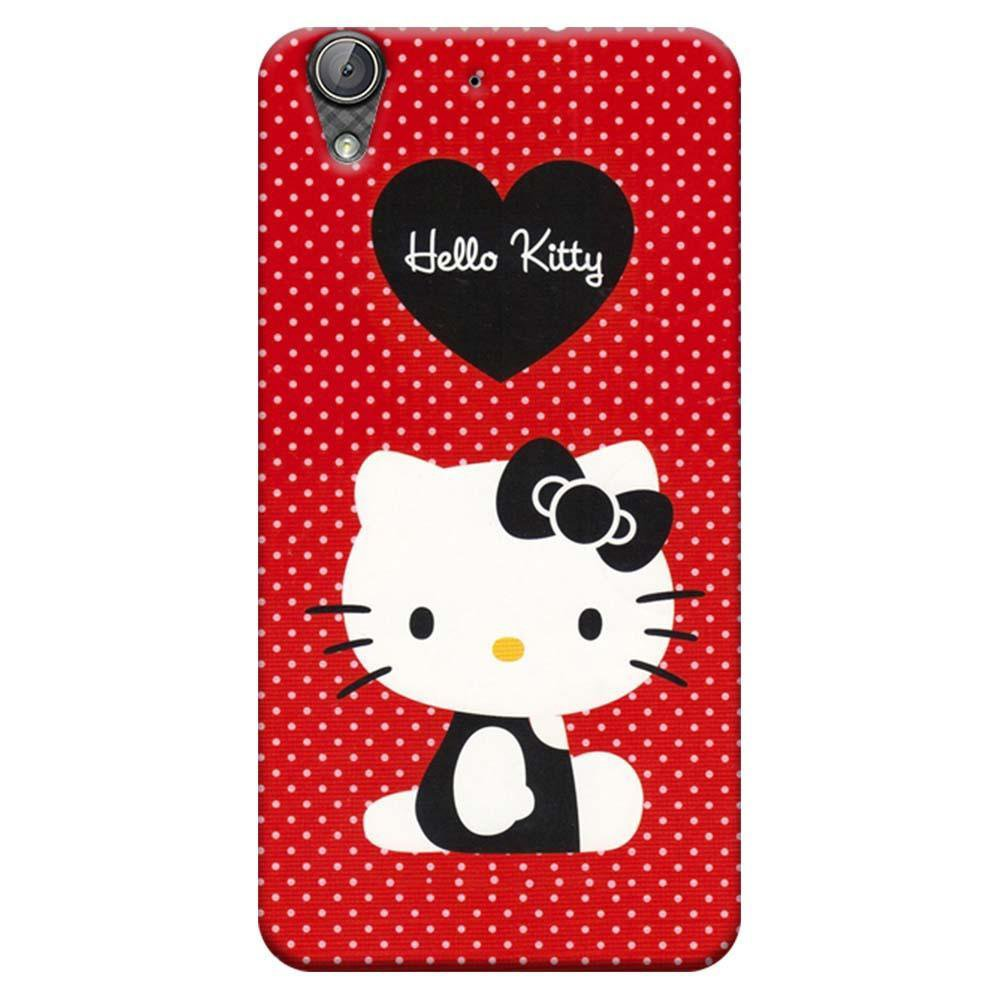 half off bbc80 3bf75 Mangomask Huawei Honor Holly 3 Mobile Phone Case Back Cover Custom Printed  Designer Series Hello Kitty Red