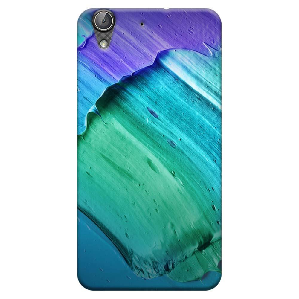 half off 908a6 caa9e Mangomask Huawei Honor Holly 3 Mobile Phone Case Back Cover Custom Printed  Designer Series Blue Violet Green Brush Strokes