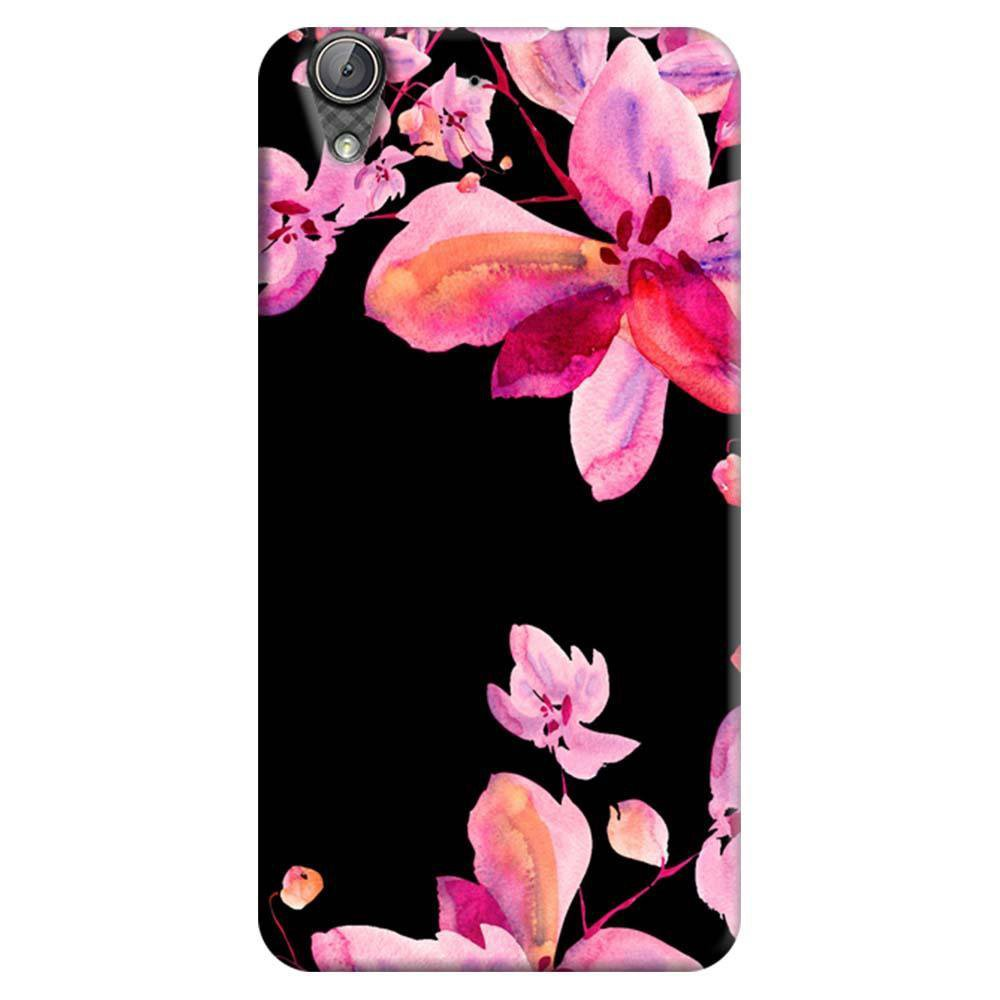 sneakers for cheap 6d72d 099e1 Mangomask Huawei Honor Holly 3 Mobile Phone Case Back Cover Custom Printed  Designer Series Black And Pink Floral Two