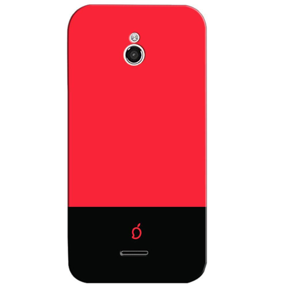 reputable site 4fcfd 1afb8 Mangomask InFocus M2 Mobile Phone Case Back Cover Custom Printed Neon  Series Carmine Red Striped Three