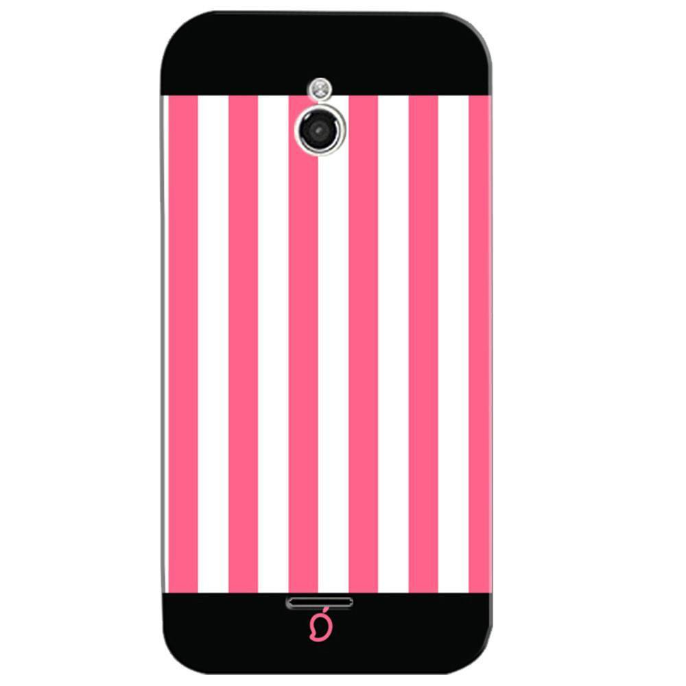 new style 23e93 0deed Mangomask InFocus M2 Mobile Phone Case Back Cover Custom Printed Neon  Series Coral Pink Striped Seven