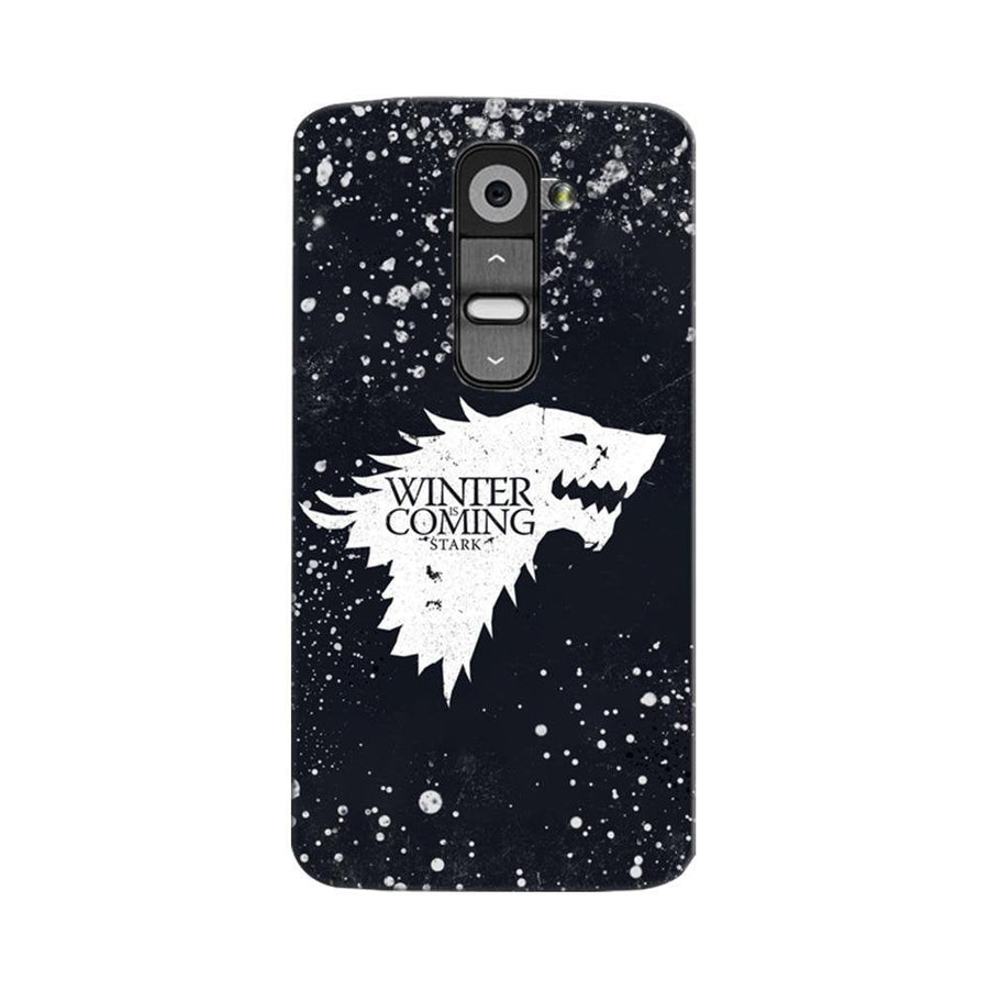 Mangomask LG G2 Mobile Phone Case Back Cover Custom Printed Designer Series Winter Is Coming Game Of Thrones House Stark