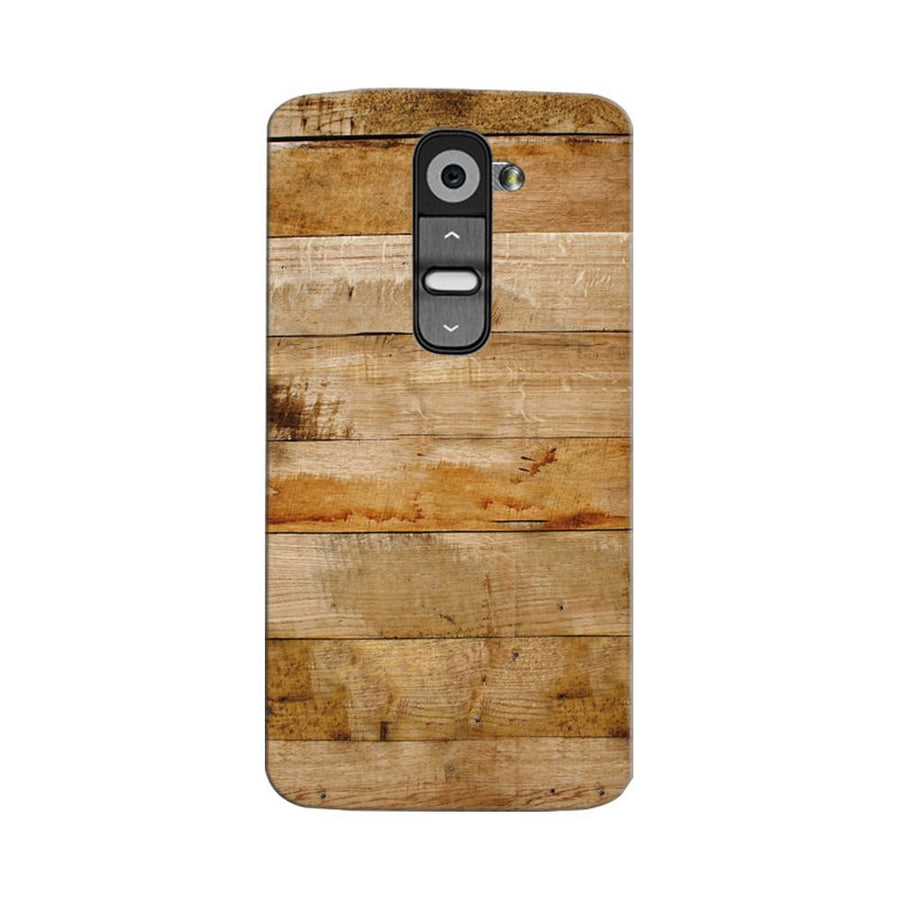 Mangomask LG G2 Mobile Phone Case Back Cover Custom Printed Designer Series Teak Wood