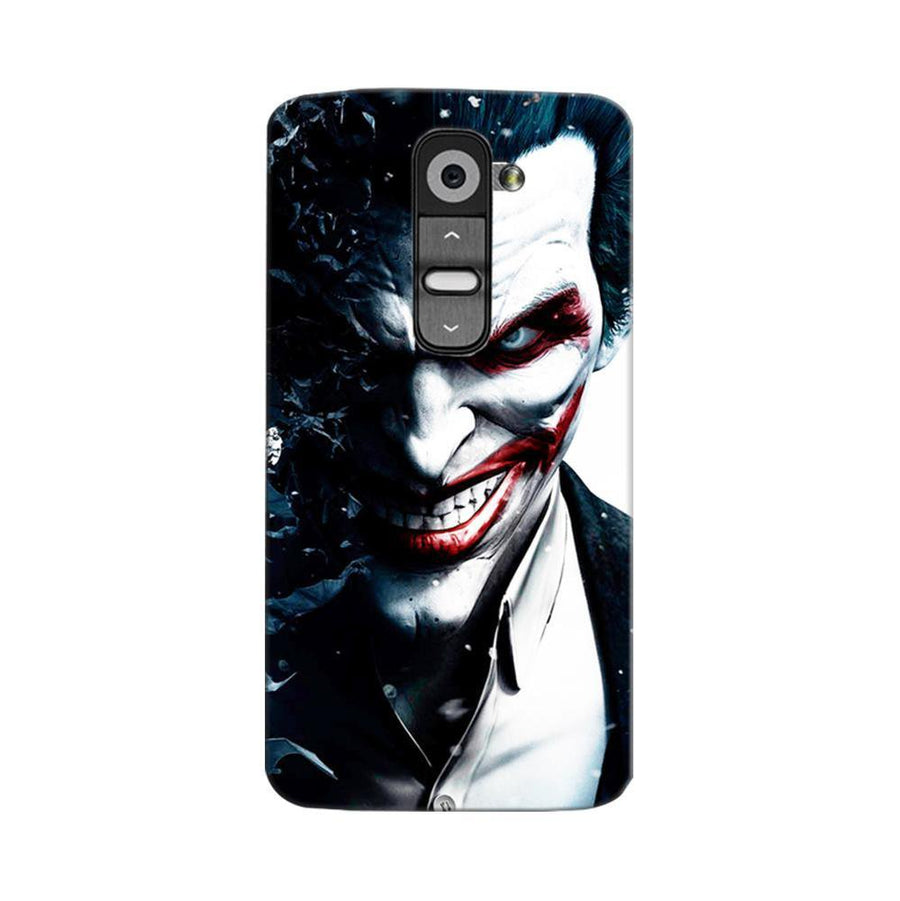 Mangomask LG G2 Mobile Phone Case Back Cover Custom Printed Designer Series Red Eye Joker