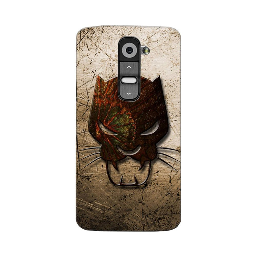 Mangomask LG G2 Mobile Phone Case Back Cover Custom Printed Designer Series Tiger Mask