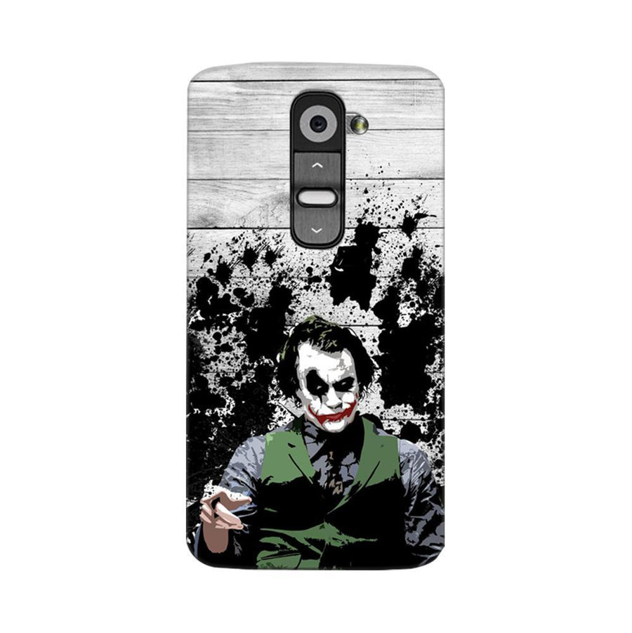 Mangomask LG G2 Mobile Phone Case Back Cover Custom Printed Designer Series Joker The Dark Knight