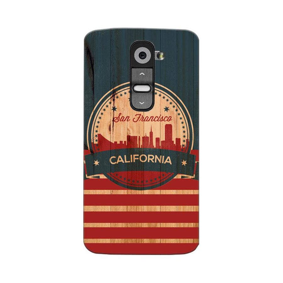 Mangomask LG G2 Mobile Phone Case Back Cover Custom Printed Designer Series San Francisco California