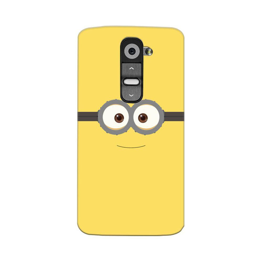 Mangomask LG G2 Mobile Phone Case Back Cover Custom Printed Designer Series Minions On Despicable Me