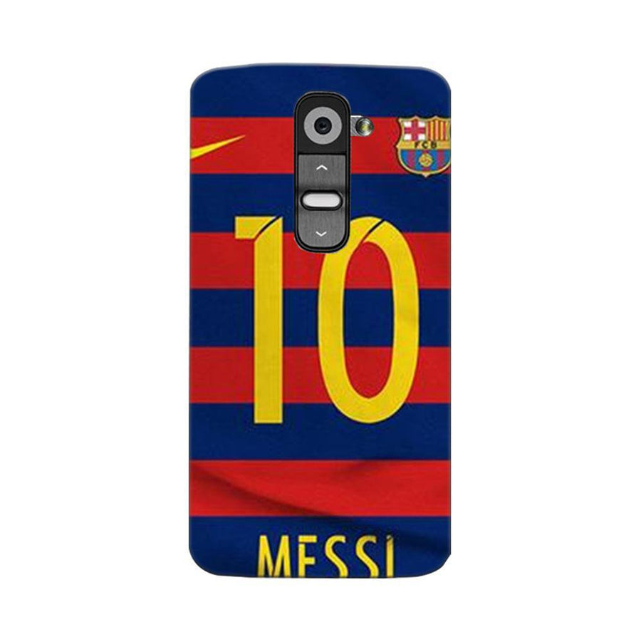 Mangomask LG G2 Mobile Phone Case Back Cover Custom Printed Designer Series Soccer Messi One