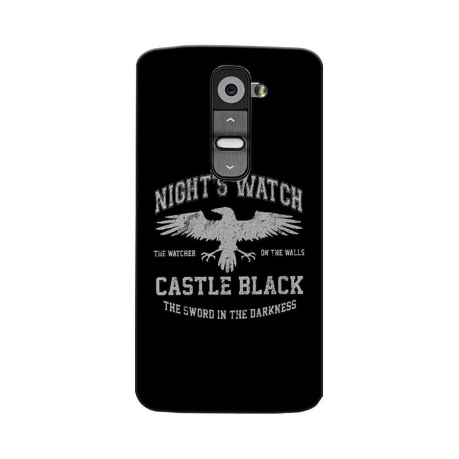 Mangomask LG G2 Mobile Phone Case Back Cover Custom Printed Designer Series Nights Watch Game Of Thrones (Got)
