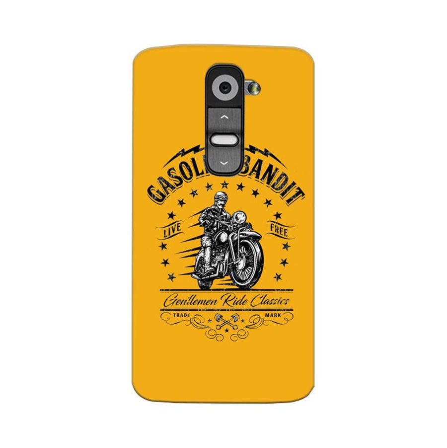 Mangomask LG G2 Mobile Phone Case Back Cover Custom Printed Designer Series Rider Motor Cycle
