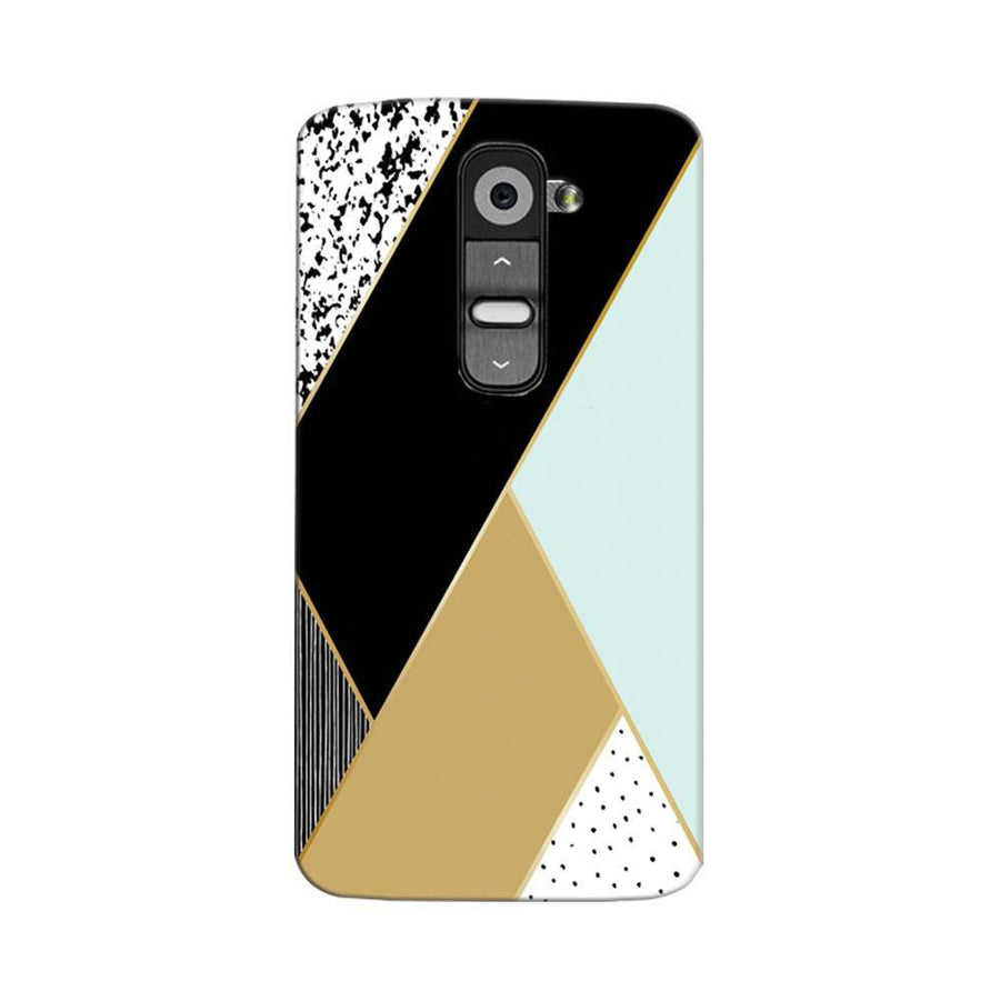 Mangomask LG G2 Mobile Phone Case Back Cover Custom Printed Designer Series Zig Zag One
