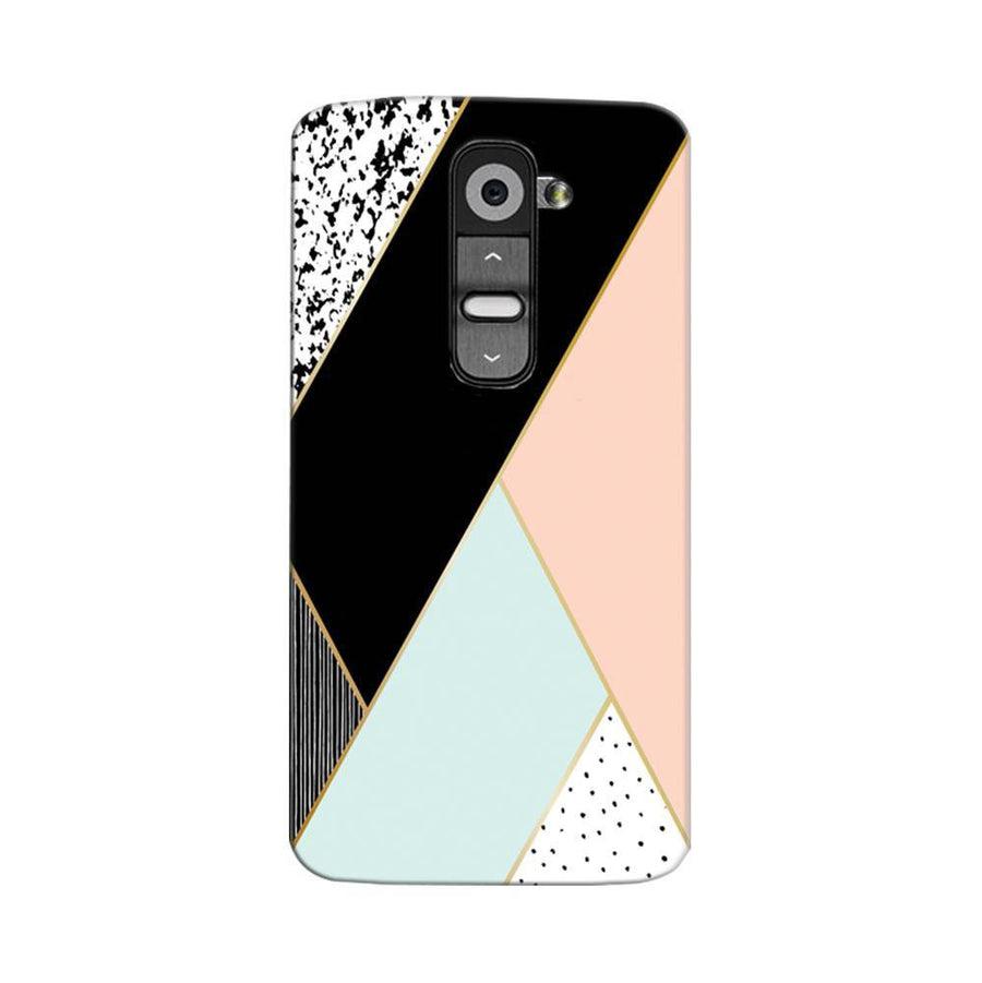 Mangomask LG G2 Mobile Phone Case Back Cover Custom Printed Designer Series Zig Zag Two