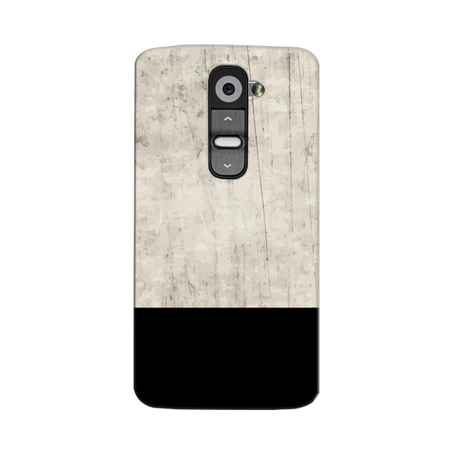 Mangomask LG G2 Mobile Phone Case Back Cover Custom Printed Designer Series Vintage Black And White Pattern