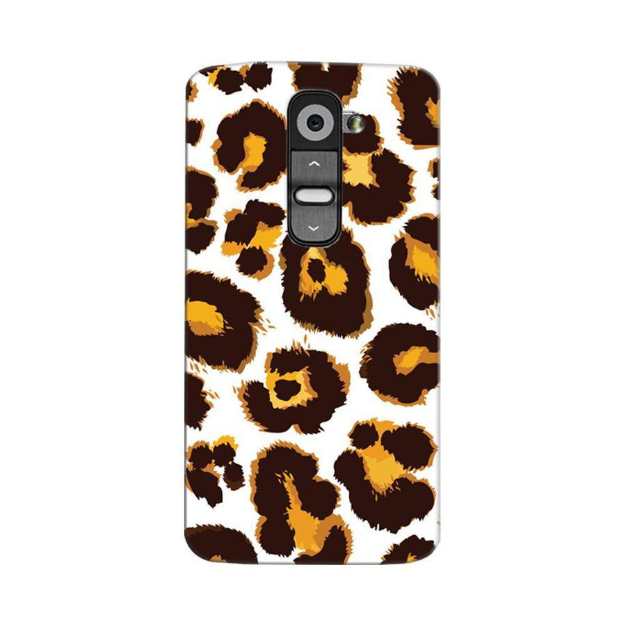 Mangomask LG G2 Mobile Phone Case Back Cover Custom Printed Designer Series Tiger Cheetah Animal Print