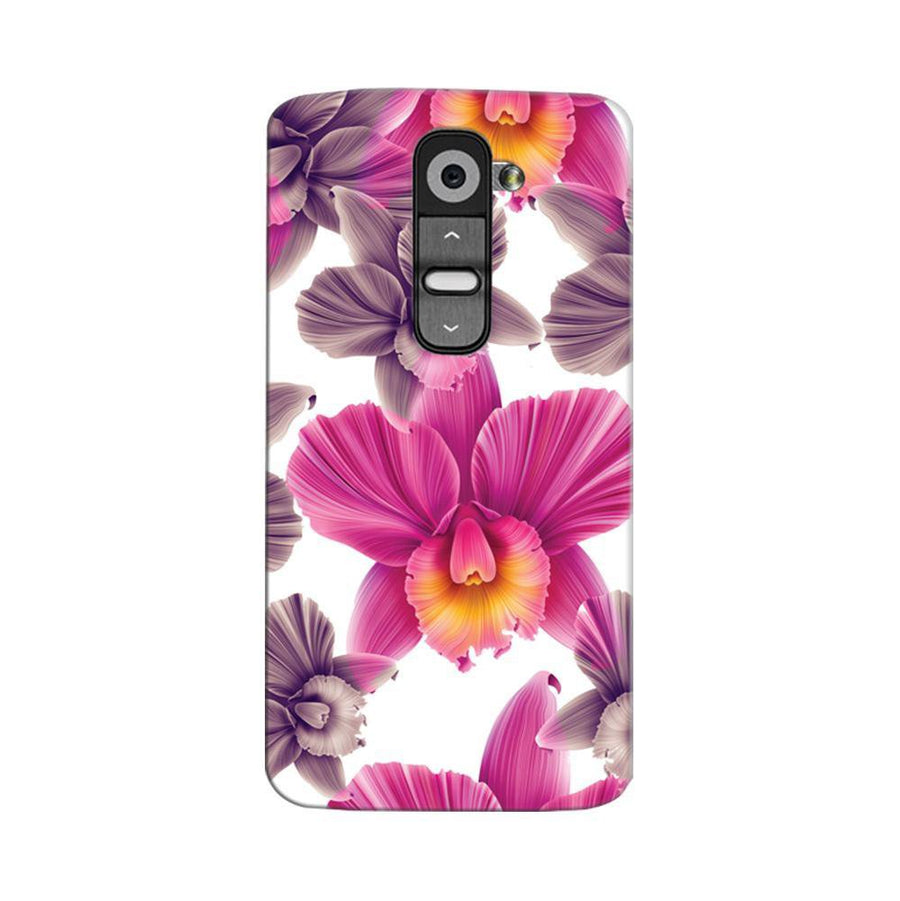 Mangomask LG G2 Mobile Phone Case Back Cover Custom Printed Designer Series Unique Floral Pattern