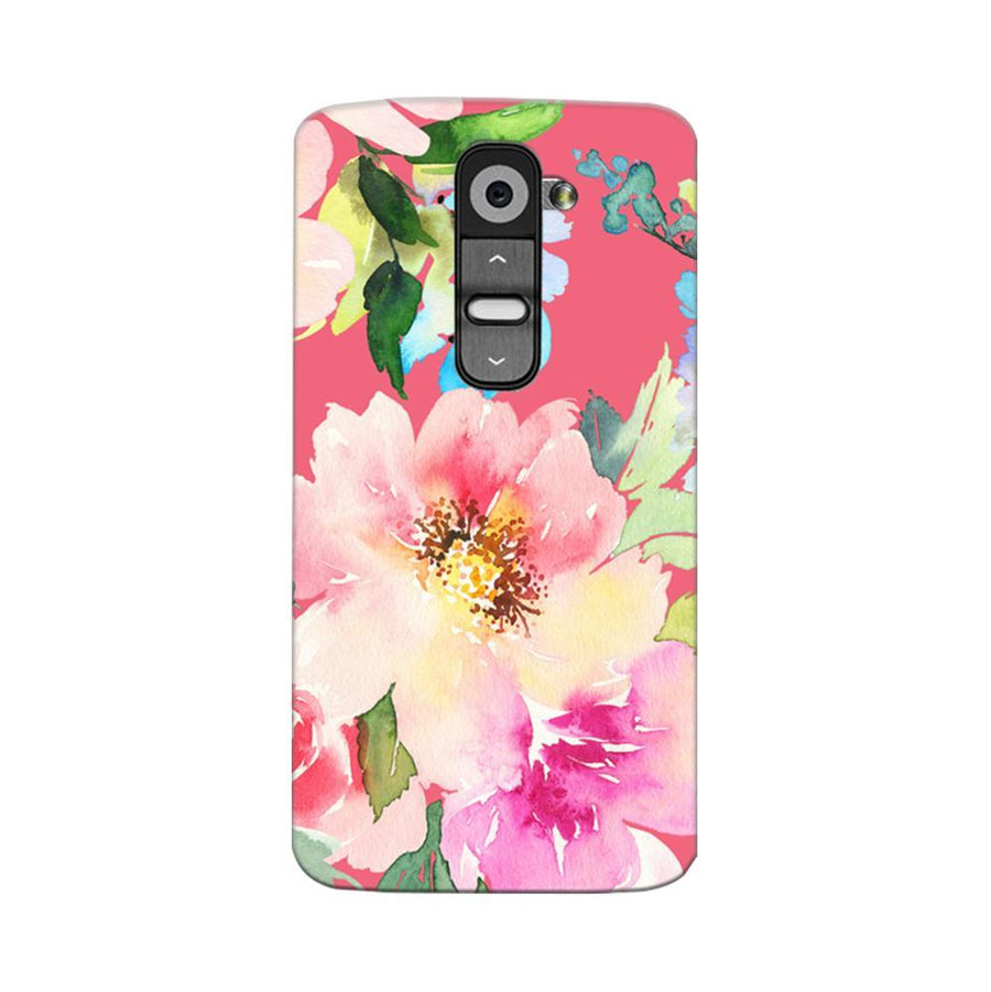 Mangomask LG G2 Mobile Phone Case Back Cover Custom Printed Designer Series Spring Floral