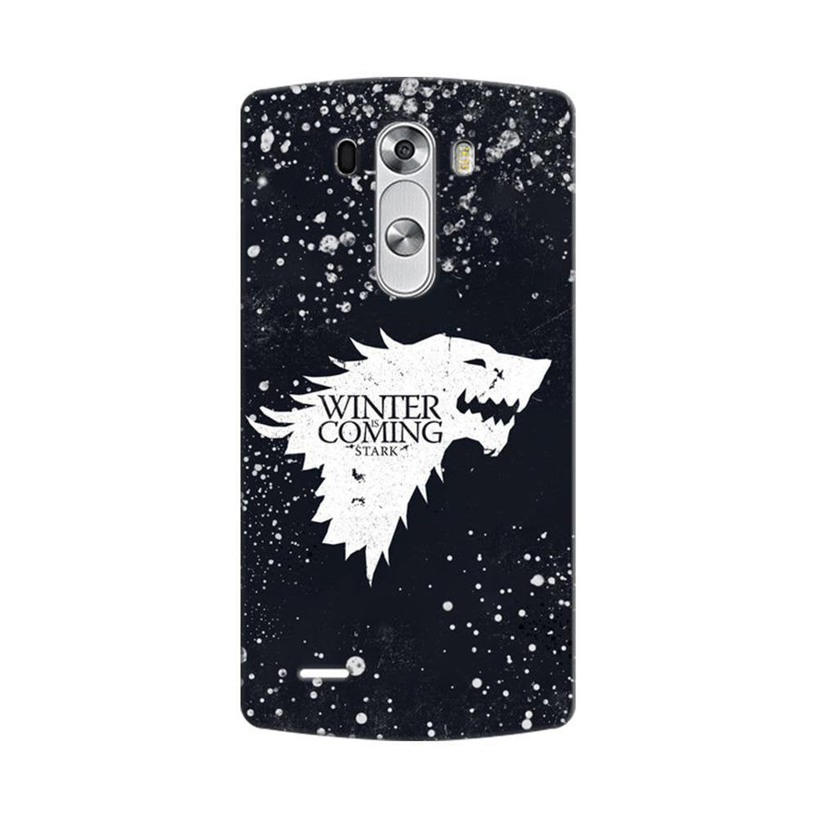 Mangomask LG G3 Stylus Mobile Phone Case Back Cover Custom Printed Designer Series Winter Is Coming Game Of Thrones House Stark