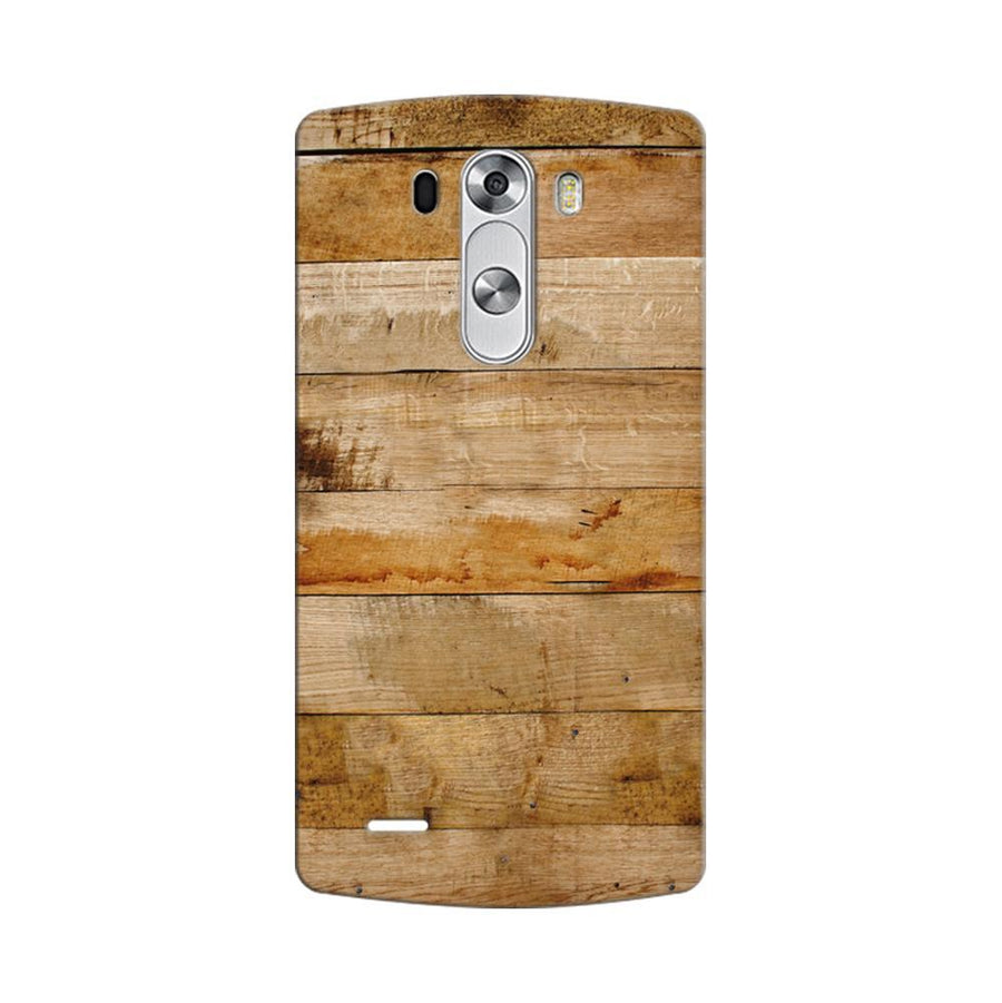 Mangomask LG G3 Stylus Mobile Phone Case Back Cover Custom Printed Designer Series Teak Wood