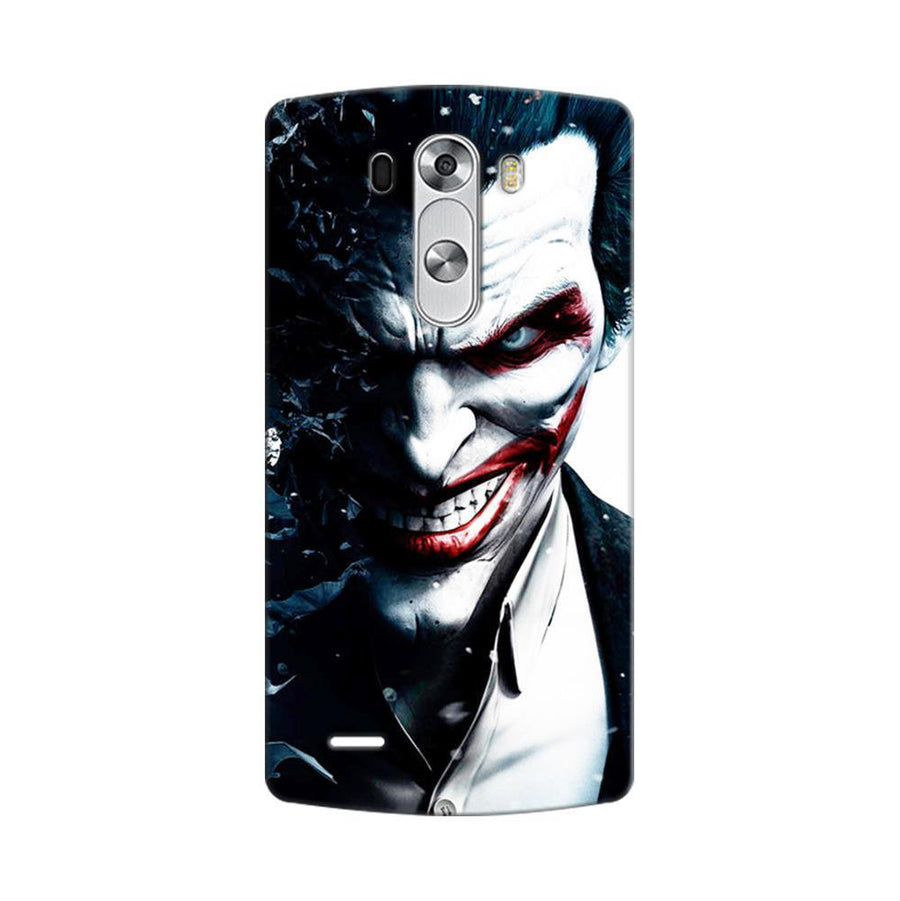 Mangomask LG G3 Stylus Mobile Phone Case Back Cover Custom Printed Designer Series Red Eye Joker