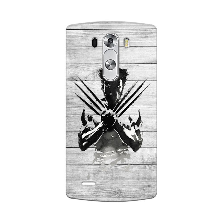 Mangomask LG G3 Stylus Mobile Phone Case Back Cover Custom Printed Designer Series Wolverine