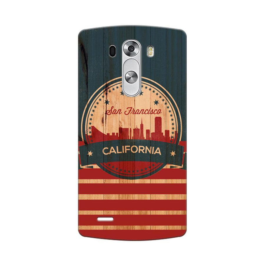 Mangomask LG G3 Stylus Mobile Phone Case Back Cover Custom Printed Designer Series San Francisco California