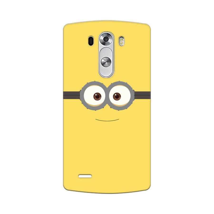 Mangomask LG G3 Stylus Mobile Phone Case Back Cover Custom Printed Designer Series Minions On Despicable Me