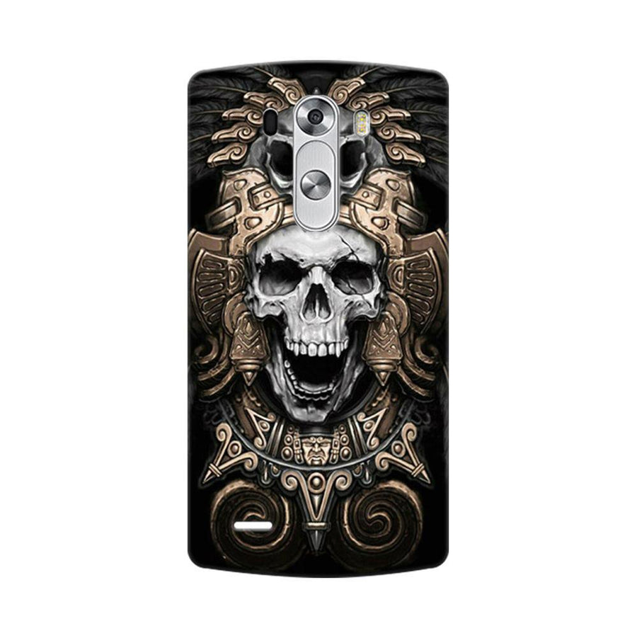 Mangomask LG G3 Stylus Mobile Phone Case Back Cover Custom Printed Designer Series Skull Crown