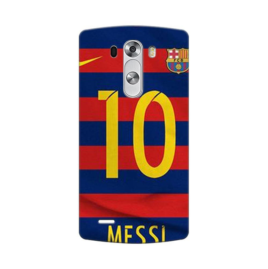 Mangomask LG G3 Stylus Mobile Phone Case Back Cover Custom Printed Designer Series Soccer Messi One