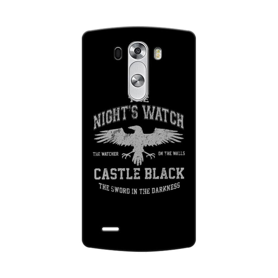 Mangomask LG G3 Stylus Mobile Phone Case Back Cover Custom Printed Designer Series Nights Watch Game Of Thrones (Got)